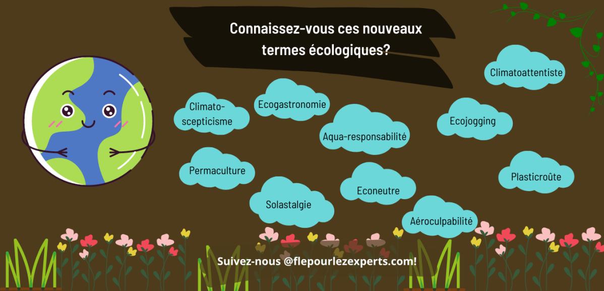 Néologisme : écologie
